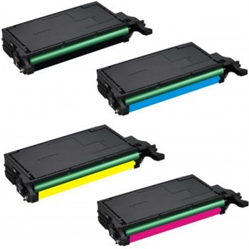 Remanufactured SAMSUNG CLT-609S 4pcs Laser Toner Cartridge Set BK/C/M/Y