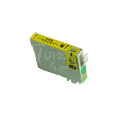 Compatible EPSON 127 Extra High Yield Yellow INK / INKJET Cartridge