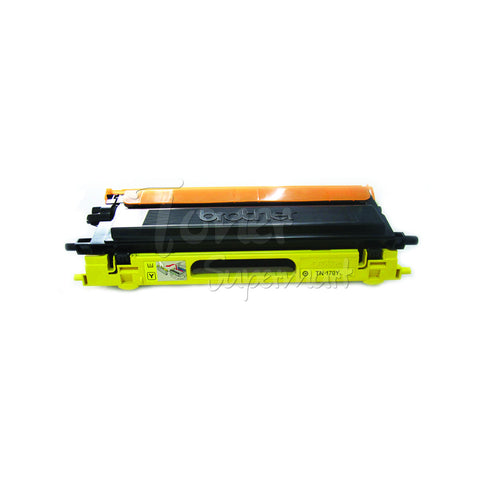 Remanufactured BROTHER TN-110Y Yellow Laser Toner Cartridge