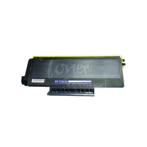 Compatible BROTHER TN-650 Black Laser Toner Cartridge
