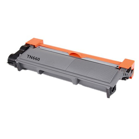 Compatible BROTHER TN660 Black High Yield Laser Toner Cartridge