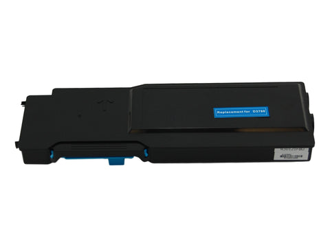 Compatible Dell 331-8432 Cyan Toner Cartridge High Yield For Dell C3760 / C3765