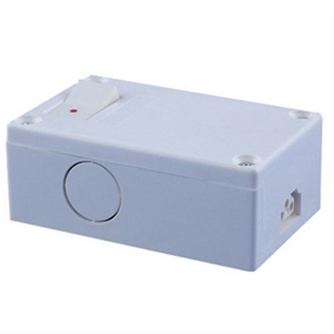 Non Grounded Plastic Hardwire Box w/Switch
