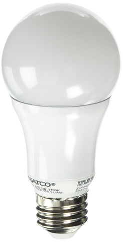 Dimmable UL Listed S9107 LED A19 7 Watt 2700K Replacement 40w