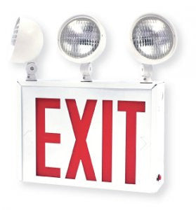 Exit Sign Combo NYC Approved with Battery Backup