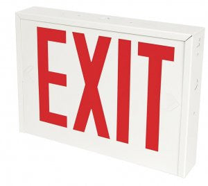 Exit Sign NYC Approved with Battery Backup