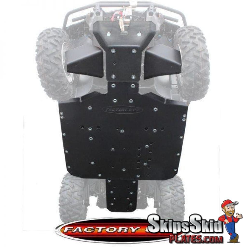 Quiet-Glide Skid Plate 3//8 for Can-Am Maverick Max 1000 X ds 2015