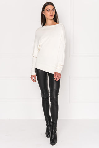 KELLY Stretch Leather Legging | KELLY Leggings En Cuir Extensible
