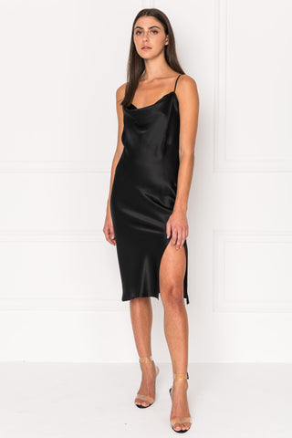 BELLA Silk Slip Dress