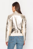 CHAPIN Reversible Leather Bomber