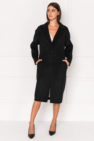 COPPOLA Oversized Cocoon Wool Coat