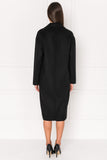 COPPOLA Black Oversized Cocoon Wool Coat