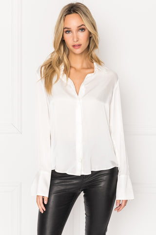 ELENA Button Down Blouse