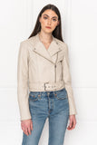 EMERY Shell Boxy Biker Jacket