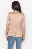 FORTUNA Quartz Silk Blazer