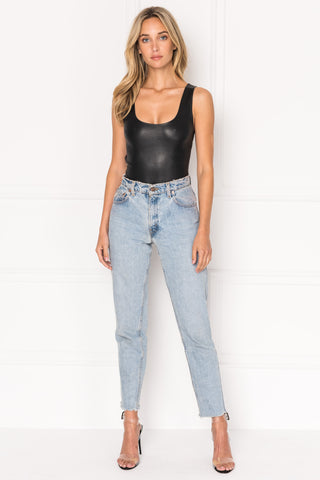 @KGMTL Stretch Leather Bodysuit