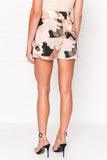 MELBA Camo Print Pull On Shorts