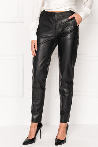 MORISSA Leather Trousers