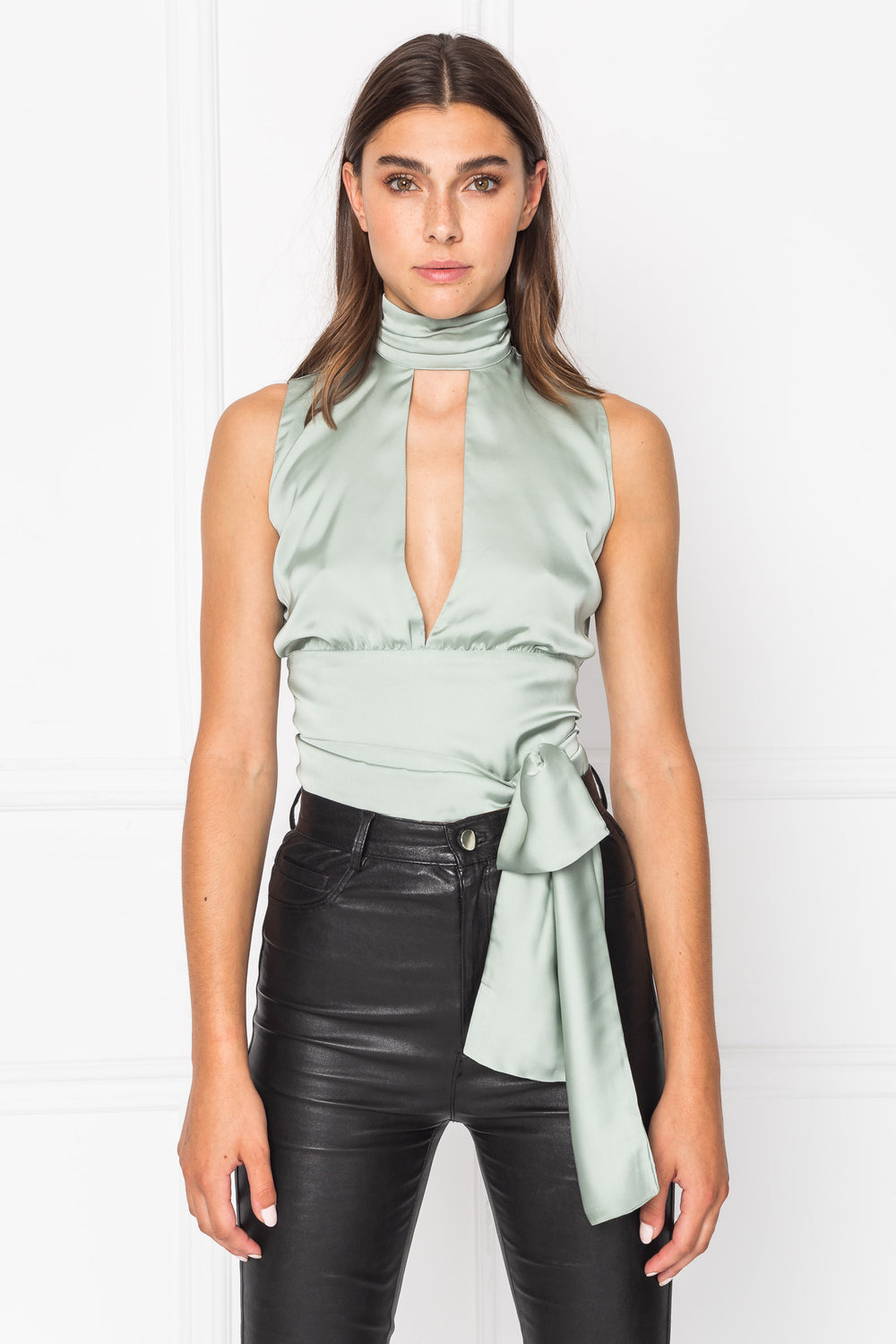 OPAL Halter Neck Top