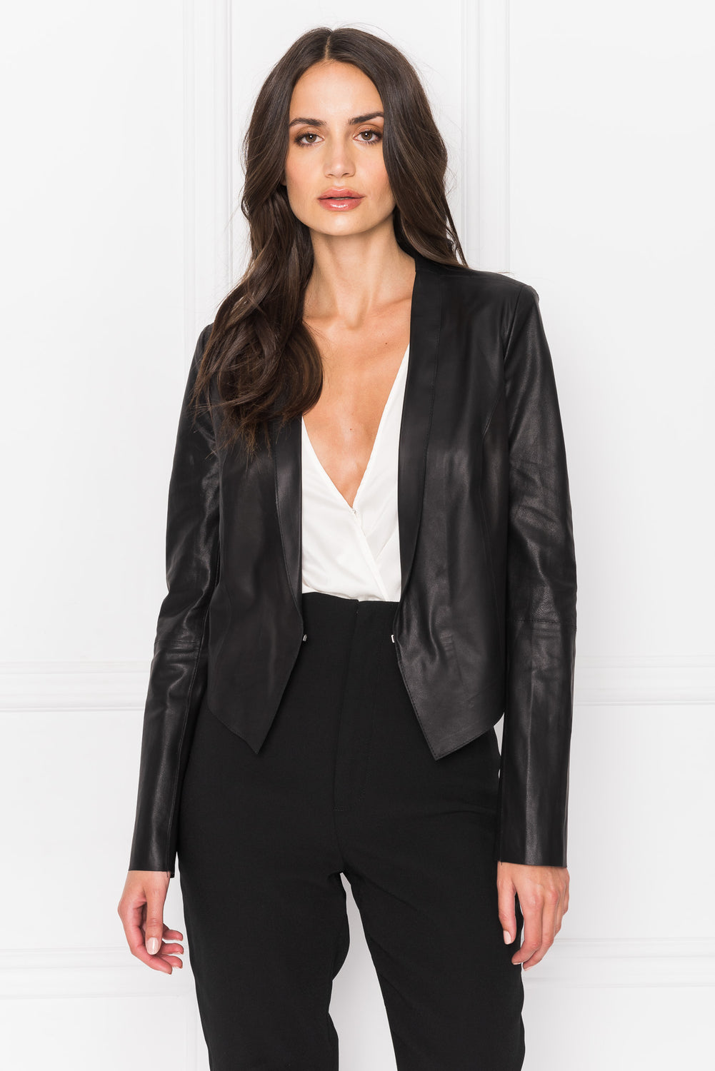ROSE Black Lightweight Blazer
