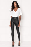 ESME Stretch Leather Jeans