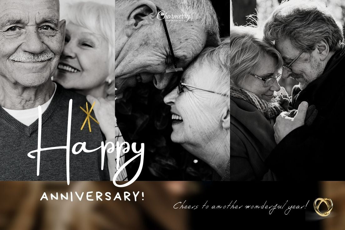 Happy anniversary gift ideas for extra special parents - Charmerry