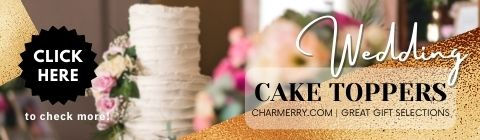 Wedding Cake Toppers | Wedding Gifts - Charmerry