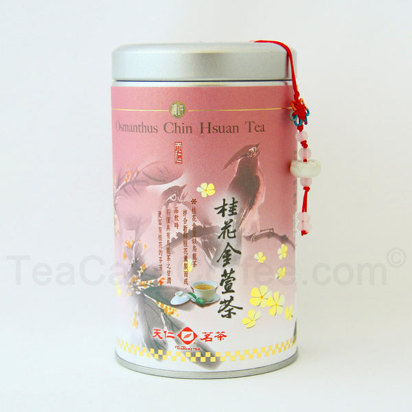 Tea Jin Xuan /Chin Hsuan Oolong Tea -Osmanthus Oolong Loose Tea /100g /3.53oz. - Charmerry