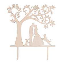 Load image into Gallery viewer, dog-topper-cat-wedding-cake-kiss