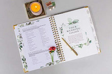 Load image into Gallery viewer, Wedding Planner & Organizer - Floral Gold Edition - Diary Engagement Gift Book & Calendar