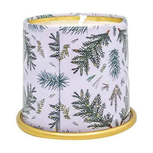 Load image into Gallery viewer, Illume Noble Holiday Collection Balsam & Cedar Demi Vanity Tin, 3 oz Candle - CHARMERRY