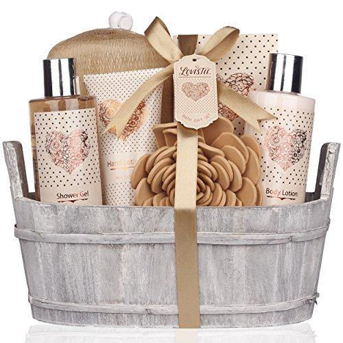 Spa Gift Basket | Bath and Body Set for Birthday, Wedding, Christmas  | Perfect Gift Idea for Women, Mother, Girlfriend, Co-worker - Charmerry