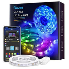 Load image into Gallery viewer, Govee Smart RGB Led Strip Lights, 16.4 Feet, Works with Alexa, for Home, Party, Kitchen - CHARMERRY