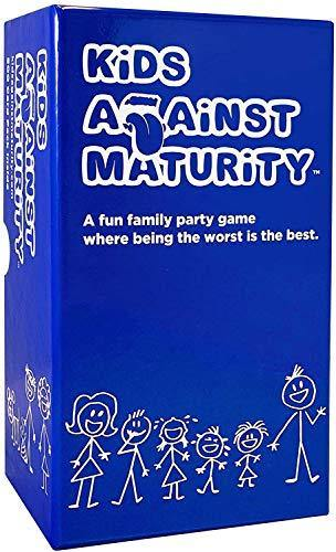 Kids Against Maturity: Card Game for Kids and Families, Super Fun Hilarious for Family Party Game Night - CHARMERRY