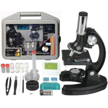 Load image into Gallery viewer, AmScope Kids Beginner Microscope STEM Kit - 120X-1200X 52pcs - CHARMERRY