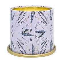 Load image into Gallery viewer, Illume Noble Holiday Collection Woodfire Demi Vanity Tin, 3 oz Candle - CHARMERRY