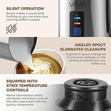 Load image into Gallery viewer, VAVA Milk Frother Electric Liquid Heater with Hot Milk Functionality, Stainless Steel Electric Milk Steamer for Latte, Cappuccino, chai latte, Hot Chocolate - CHARMERRY