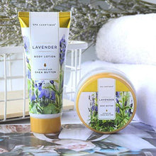 Load image into Gallery viewer, Spa Luxetique Gift Baskets for Women | Lavender Bath and Body Gift Idea For Her - Charmerry