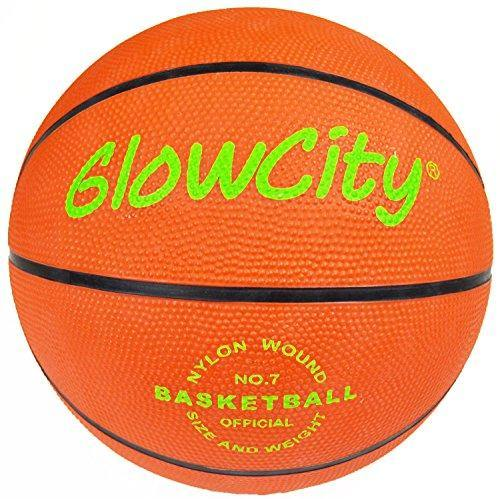Light Up Basketball-Uses Two High Bright LED's (Official Size and Weight) - CHARMERRY