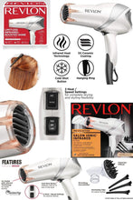 Load image into Gallery viewer, Revlon Infrared Heat Hair Dryer | Beauty and Care | Perfect Gift Idea for Her - Charmerry