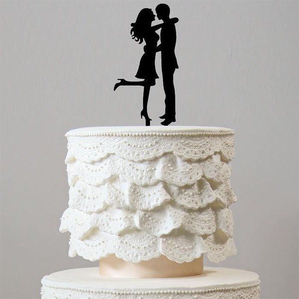 Beautiful Cake Topper for Wedding /Engagement (Romantic Bride &Groom)