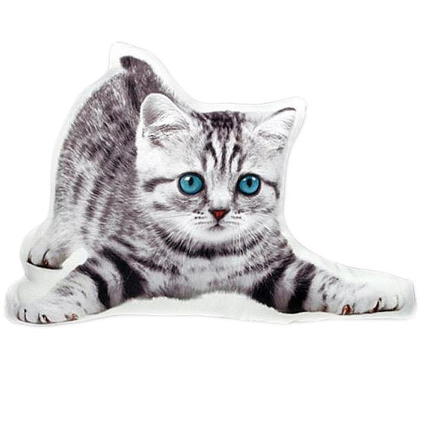 "Cat Pillow /Pet Cushion Stuffed Toy (Creative Unique Novelty Gift) [15"" 39cm]"