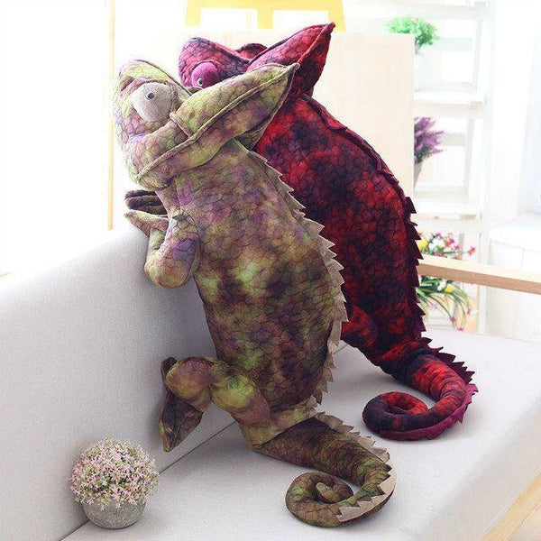 Chameleon Lizard Toys  Novelty Stuffed Animal Gifts, Unique Surprise Plush Toys Charmerry a03