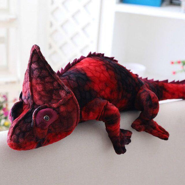 Chameleon Lizard Toys  Novelty Stuffed Animal Gifts, Unique Surprise Plush Toys Charmerry a05