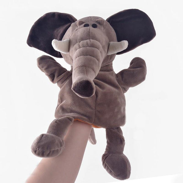 "Elephant Hand Puppet (Stuffed Elephant /Plush Elephant Animal Toy Gift)[7.8"" /20cm]"