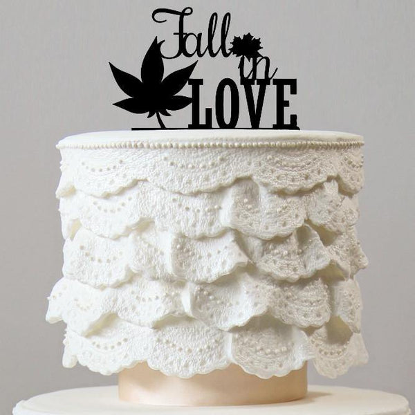 maple leaf wedding cake topper items page 12 charmerry 17113