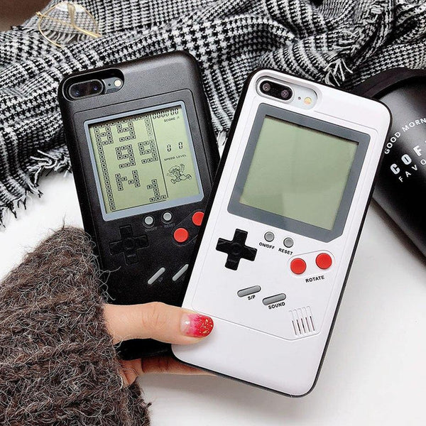 iPhone Cases X XS 8 Plus 7 6s 6 (Cool, Unique & Novelty Gifts) Built-in-Games Mobile Phone Covers
