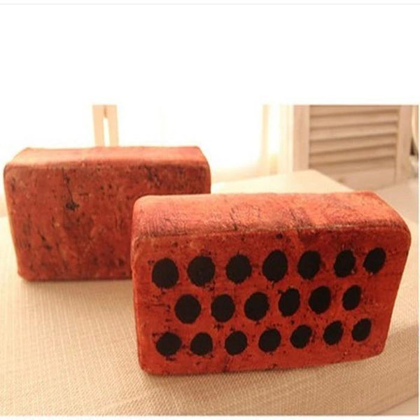 Cushion & Cover Bricks Simulation Cushion/ Creative Toy - Charmerry