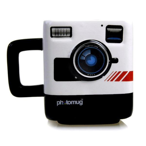 Instant Camera Coffee Mug (Creative Unique Novelty /Polaroid Fans Gift)