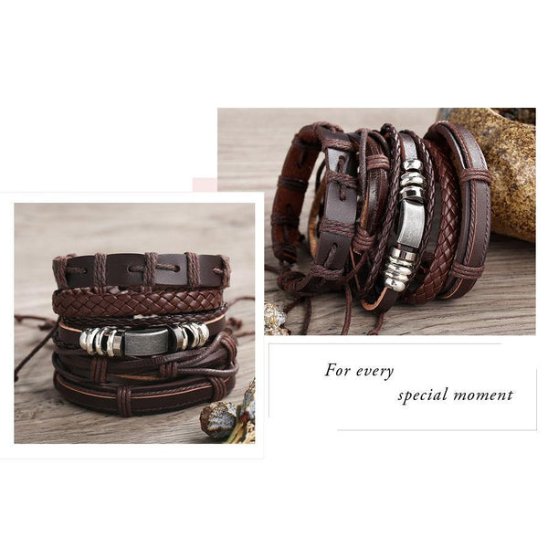 Leather Bracelets  Rocker, Biker, Street Style, Punk Outfit Additions & Accessories Charmerry a29